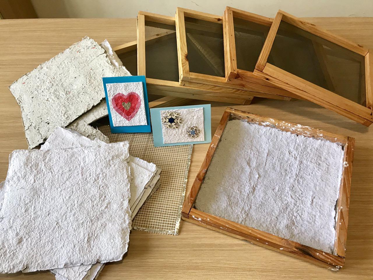 Арт изделия от рециклирана хартия